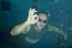 'Free' diver Mike